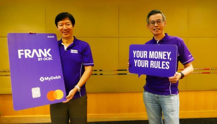 OCBC Bank's 'FRANK by OCBC' digital initiative