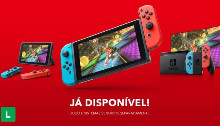 Nintendo Switch Launches In Brazil With More Than 100 Games