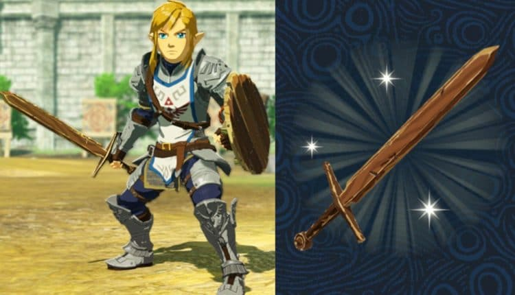 Breath Of The Wild Players Receive Bonus Training Sword In Hyrule Warriors