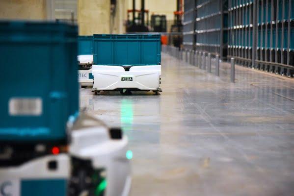 Exotec raises $90 million for its warehouse robots