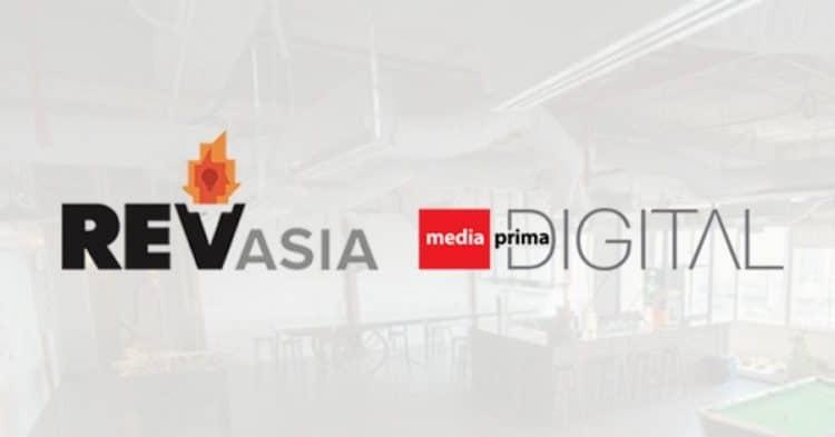 Malaysian Digital Media Group REV Asia Acquire iMEDIA