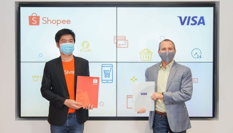 Shopee strategic partnership with Visa for digital payments