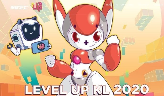 Level Up KL 2020 virtual event Start from 10 October