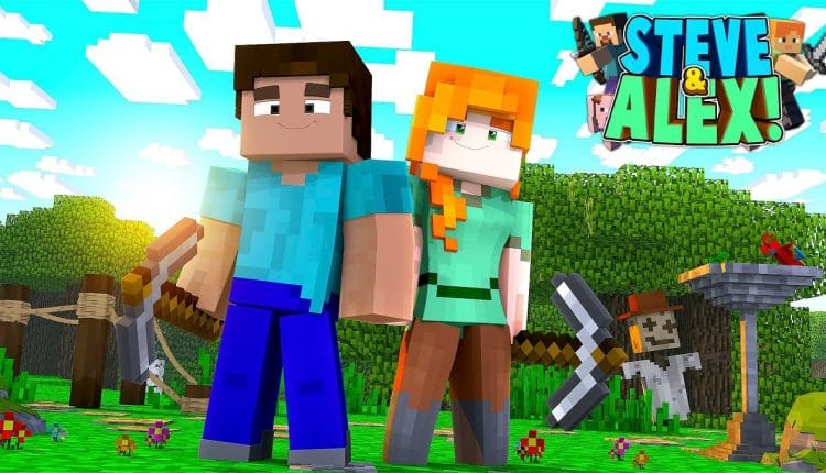 Steve and Alex from Minecraft coming to Super Smash Bros