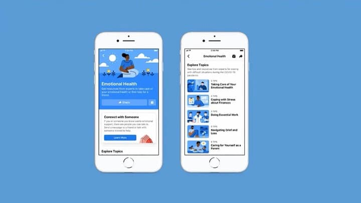 Facebook's new health tips portal with expert guides