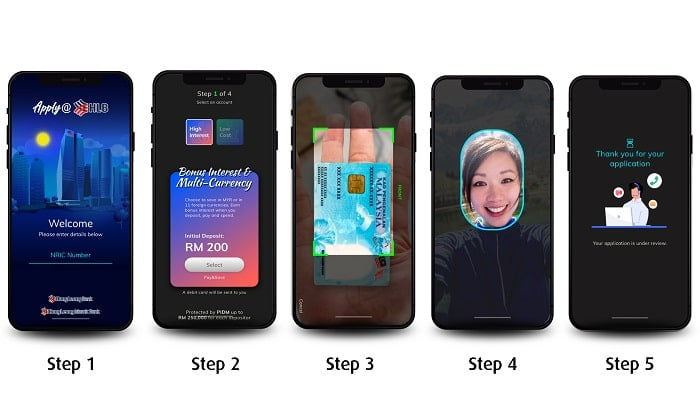 Hong Leong Bank offer truly digital onboarding experience for Malaysians