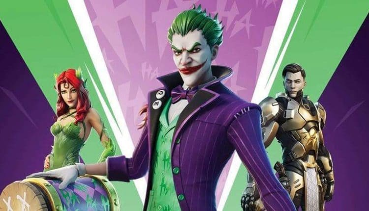 Fortnite Joker & Poison Ivy Skins Have Variant Styles