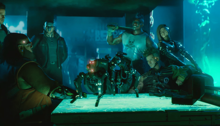 Cyberpunk 2077 will be available at launch for Stadia