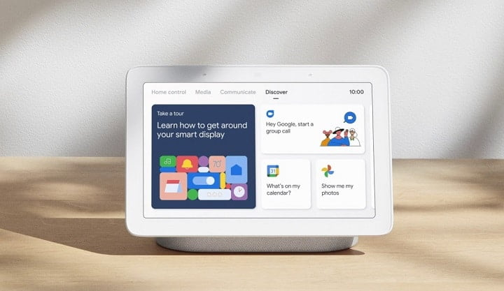 Google Assistant enabled smart displays support for multiple accounts