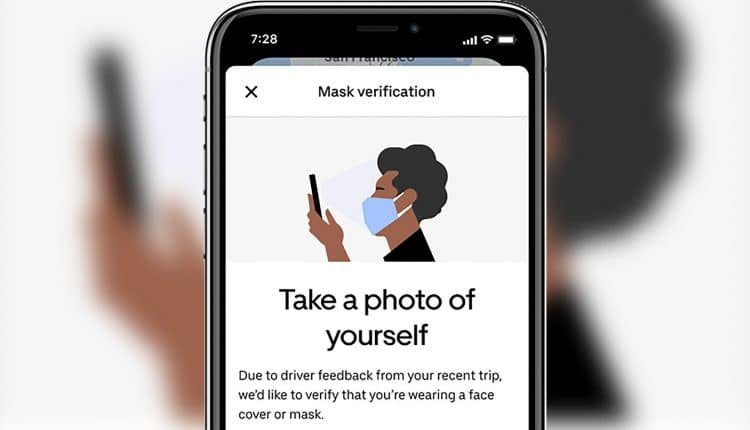 Uber India introduces mask verification selfie for riders