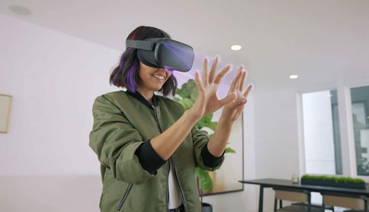 Facebook working on virtual keyboards typing for VR