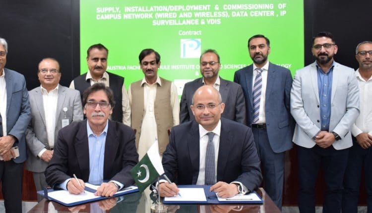 PTCL Awarded Turnkey ICT Contract for Smart Campus at PAF-IAST