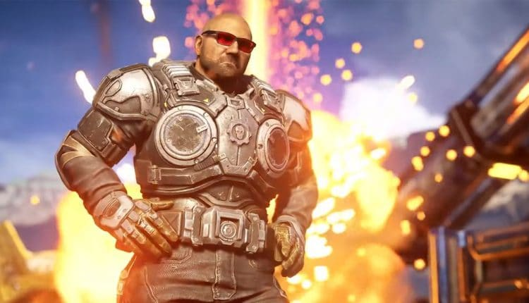 Gears 5 Update Will Let Players Turn Marcus Fenix Into Dave Bautista