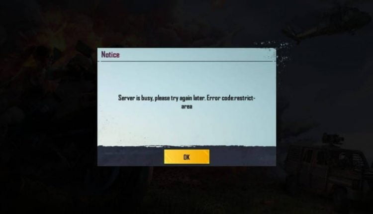 How to Fix Server is Busy Error in PUBG Mobile