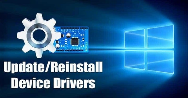 How to Update or Reinstall Drivers in Windows 10 PC