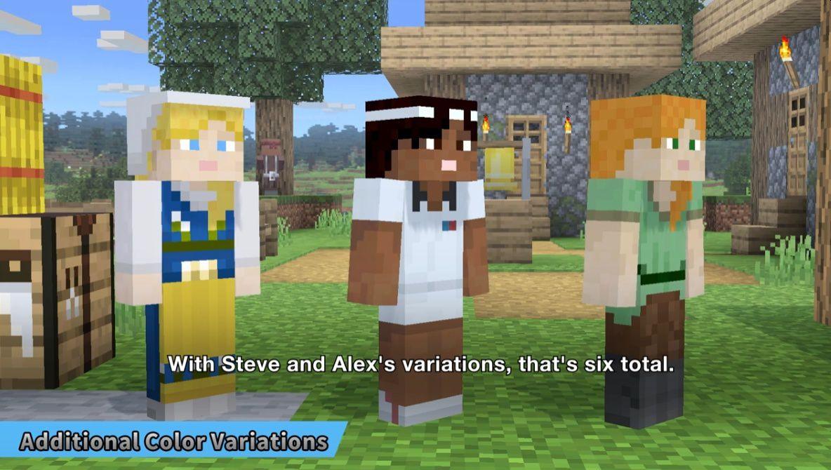 Steve-and-Alex-Minecraft