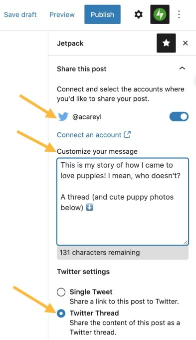 WordPress-can-now-turn-blog-posts-into-tweetstorms-automatically-2