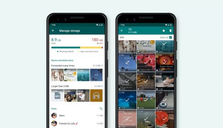 WhatsApp Rolls Out New Storage Management Tool