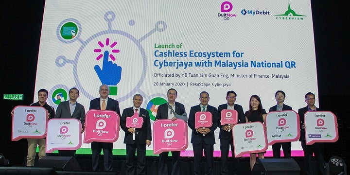 Cyberjaya, Malaysia Adopt National QR Code For Cashless Payments