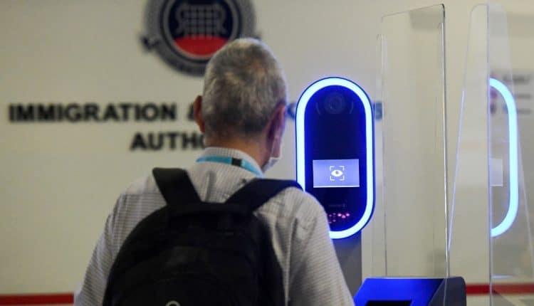 Singapore new iris & facial biometric scan at border checkpoints