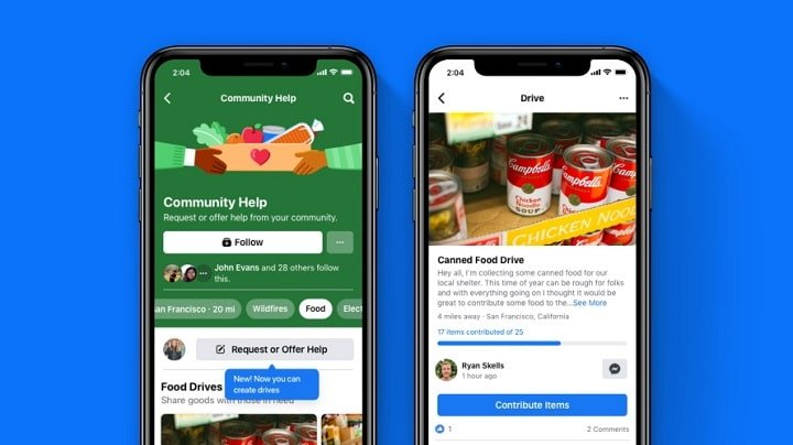Facebook Kicks Off Season of Giving New Drives Feature in US