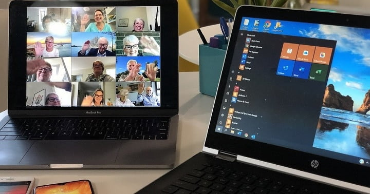 Warning! Password theft during video conferencing