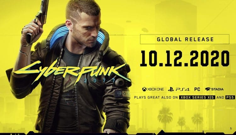 Cyberpunk 2077 Finally Release On December 10