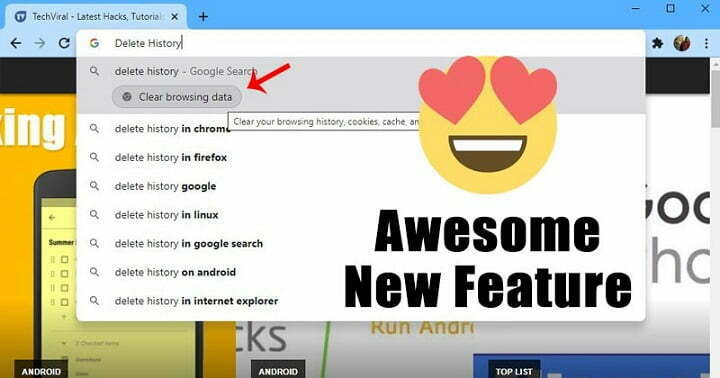 How to Enable & Use New 'Chrome Actions' Feature