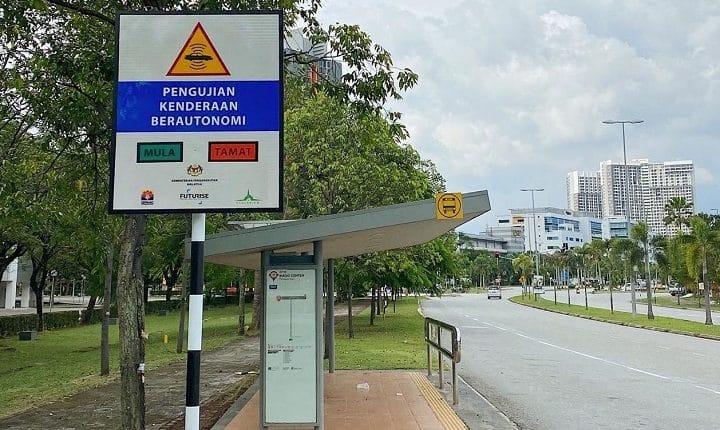 Malaysia first autonomous vehicle test route defined