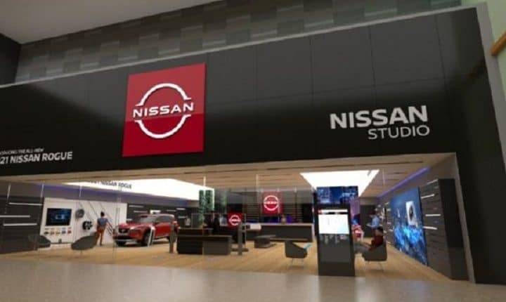 Nissan Studio combines mall boutique with online streaming