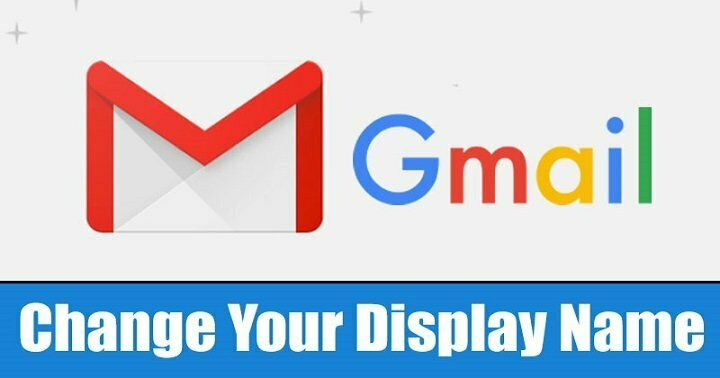 How to Change Your Email Display Name On Gmail