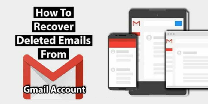 How to recover permanently deleted emails in gmail