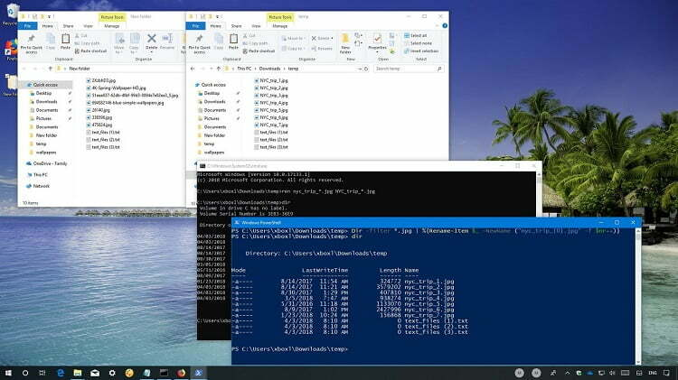 How to easily batch rename multiple files on windows 10