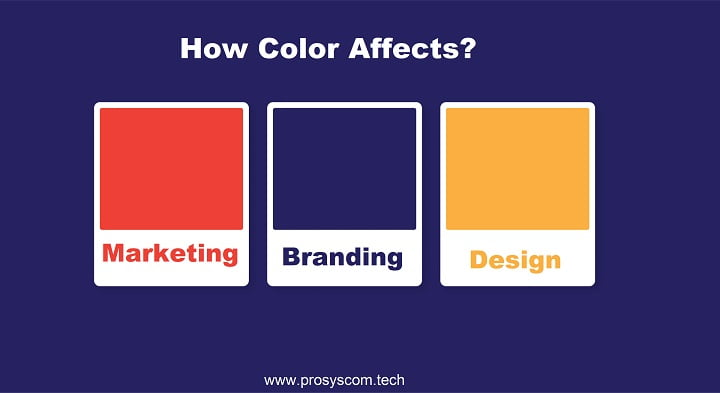 How Color Affects Marketing And Branding Design?