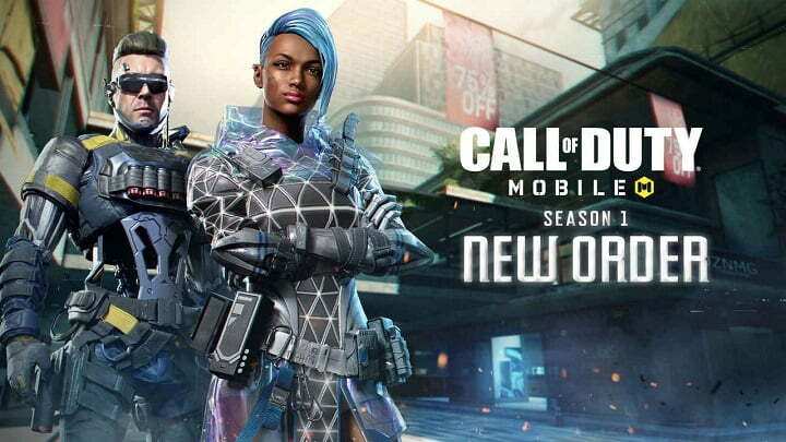 COD Mobile Season1 new order update with 3 vs 3 gunfight