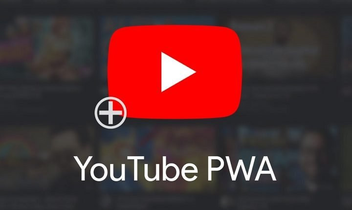 YouTube now be installed as Progressive Web App