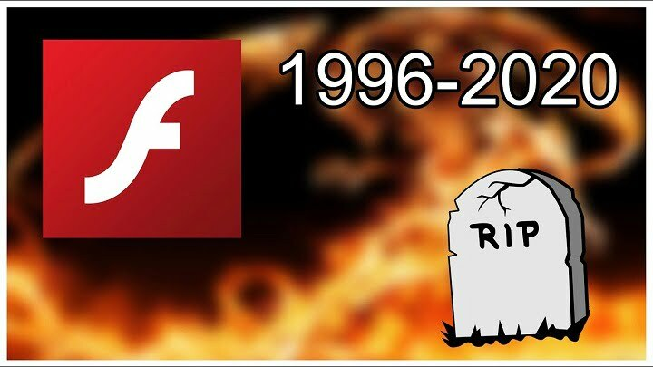 Adobe Flash Player officially ended with 2020