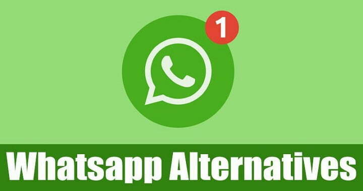 10 Best Whatsapp alternatives for your privacy