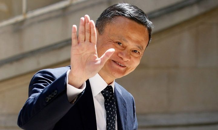 Alibaba 'JACK MA BACK' on video meeting since October