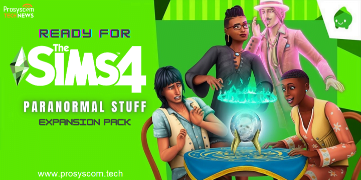 Ready for 'The Sims 4 Paranormal Stuff' expansion pack