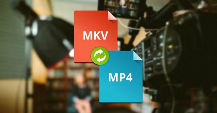 How to convert MKV videos to MP4 format in windows 10