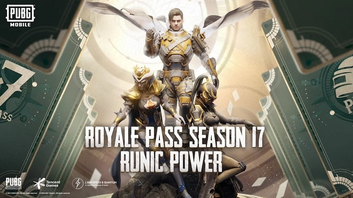 PUBG Mobile global version launched season 17 Runic Powers