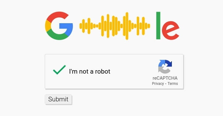 Speech-to-text API using to bypass Google audio reCAPTCHA