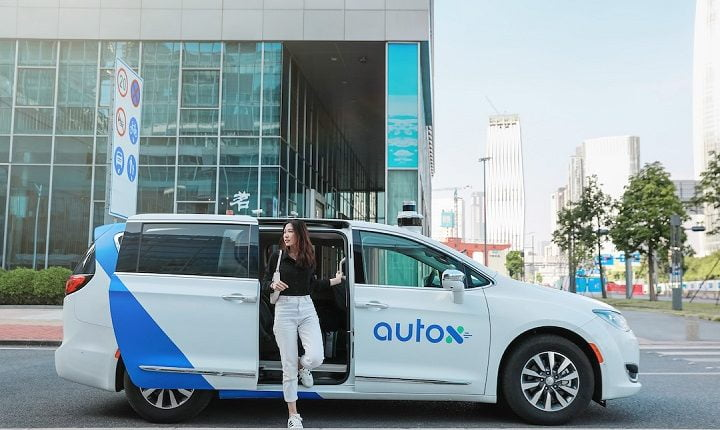 First self-driving robotaxis hit the road in China