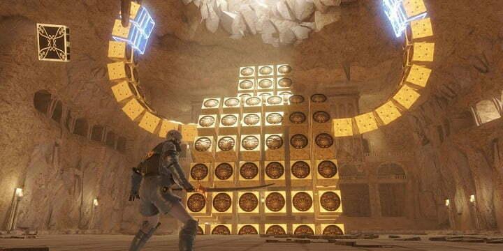 NieR Replicant Reveals Barren Temple Gameplay