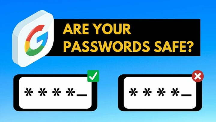 Google Password Checkup feature for Android