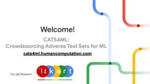 Google launched CATS4ML data challenge
