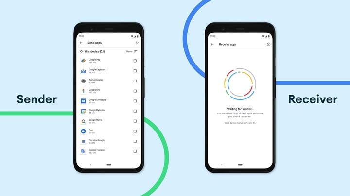 Google 'Nearby Share' now supports app sharing feature