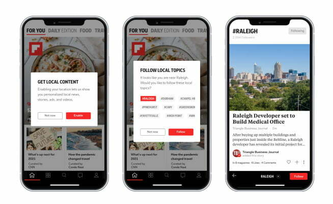 Flipboard expands its local coverage