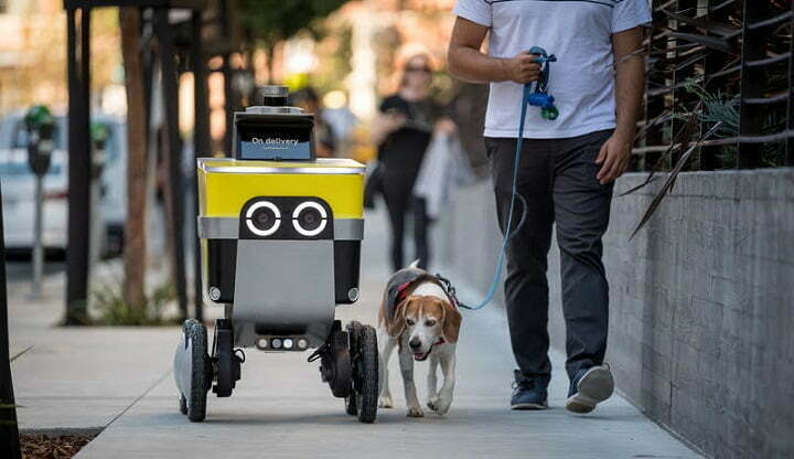 Uber rebrand delivery robot startup 'Postmates X' to 'Serve Robotics'